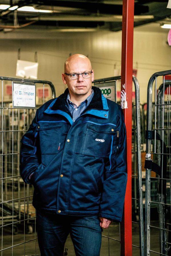 Ulf Axelsson, chef för terminalerna.