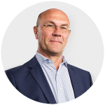Thomas Svensson, ekonomichef, presskontakt, KF